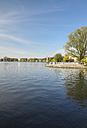 Germany, Hamburg, Alster in spring - KRPF000443