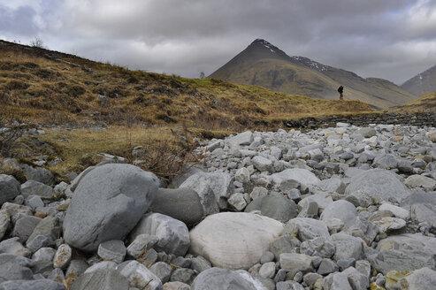 UK, Scotland, Landscape with cloudy sky - FDF000046