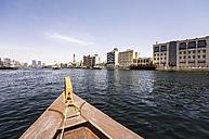 UAE, Dubai, Boat on the Creek - THAF000310