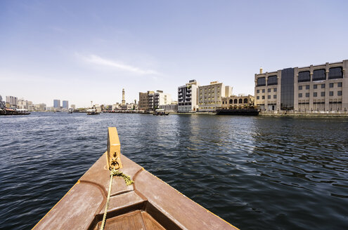 UAE, Dubai, Boat on the Creek - THAF000310