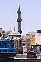 UAE, Dubai,  Mosque at the souq area in Al Ras - THAF000300