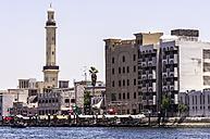 UAE, Dubai,  Mosque at the souq area in Al Ras - THAF000299