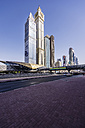 UAE, Dubai, Trade Center metro station - THAF000283