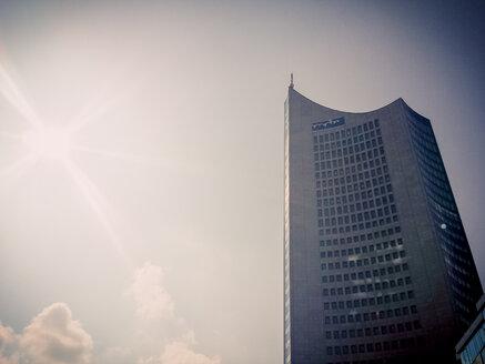 Leipzig, Saxony, Germany, highrise, MDR, University - MJ001006