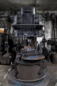 Germany, Bavaria, Josefsthal, Hammerschmiede at historic blacksmith's shop - TCF003946