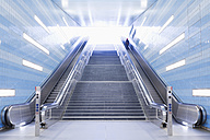 Germany, Hamburg, Underground station Hafencity Universitaet - MSF003815