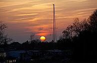 Germany, Mecklenburg Vorpommern, Baltic sea, Sunset - JTF000519