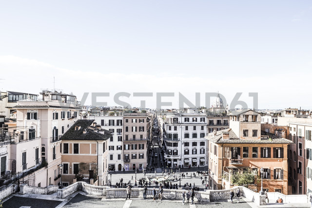 Italy, Rome, Spanisch Steps, Piazza di Spagna - DISF000826