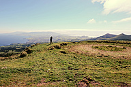 Portugal, Azores,Sao Miguel, Tourist capturing view - ONF000479