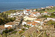 Portugal, Azores, Sao Miguel, Village Feteirasat the coast - ONF000519