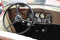 Germany, Hesse, Wiesbaden, Opel moolight roadster, Cockpit - BSC000417