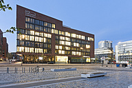 Germany, Hamburg, Ueberseequartier in Hafencity - MSF003847