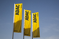 Germany, North Rhine-Westphalia, Dortmund, Flags of ADAC - WI000624