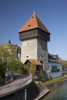 Germany, Baden-Wuerttemberg, Constance, Rheintor tower, Lake Constance - WIF000634