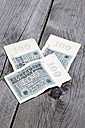 One hundred million German Reichsmark notes from the 1920s - CSF021304