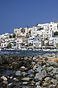 Greece, Cyclades, Naxos City and harbour - KRPF000479