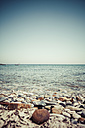 Greece, Cyclades, Naxos, Bay, Stony beach - KRPF000468