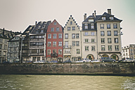 France, Alsace, Strasbourg, waterfront view - SBDF000901