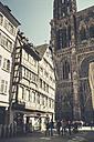 France, Alsace, Strasbourg, Strasbourg Cathedral - SBDF000902