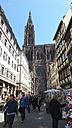 France, Alsace, Strasbourg, Strasbourg Cathedral - SBD000907