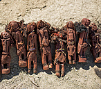 Africa, Namibia, Damaraland, Himba, Crafts, Carved wooden puppets - HL000539