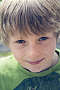 Portrait of smiling boy with freckles - SARF000606