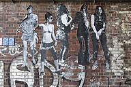 Germany, Berlin, Streetart at wall - MKL000024