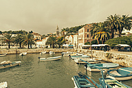 Croatia, Harbor and old town of Hvar - MEMF000007