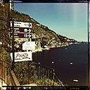 Italy, Campania, Amalfi Coast, Signs - STE000042