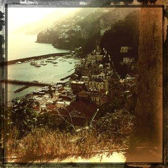Italy, Campania, Amalfi Coast, Amalfi, townscape - STE000080