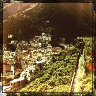 Italy, Campania, Amalfi Coast, Amalfi, townscape - STE000121