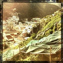 Italy, Campania, Amalfi Coast, Amalfi, townscape - STE000098