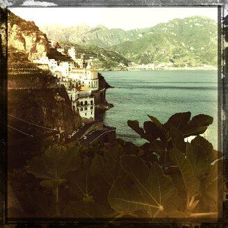 Italy, Campania, Amalfi Coast, Atrani, townscape - STE000102