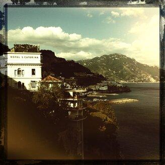 Italy, Campania, Amalfi Coast, Amalfi, Hotel Santa Caterina - STE000114