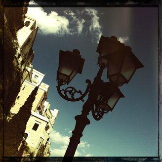 Italy, Campania, Amalfi Coast, Amalfi, Street Light - STE000003