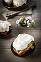 Gluten-free rhubarb cake with meringue - EVGF000584