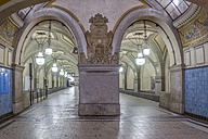 Germany, Berlin, historic subway station Heidelberger Platz - NKF000133