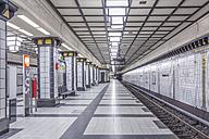 Germany, Berlin, subway station Paracelsiusbad - NKF000142