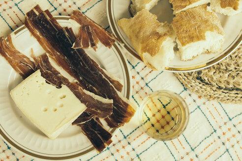 Croatia, Dalmatia, Trogir, Starter in a restaurant - MEMF000048