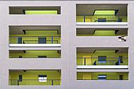 Facade of modern multi-family house - TCF004072