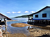 Thailand, Koh Chang, Bang Bao fishing village - AVSF000201