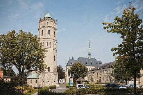 Germany, North Rhine-Westphalia, Stift Tilbeck, water tower - MEM000144