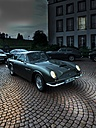 Parking Aston Martin DB 6 with lighted headlights - AM002271
