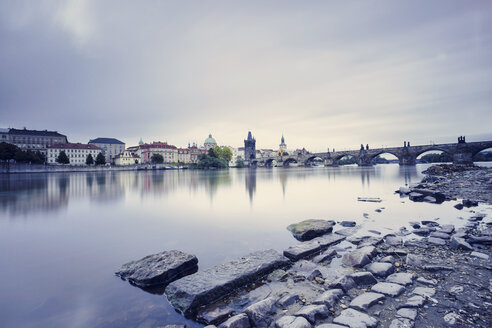 Czech republic, Prague, Charles Bridge - HCF000040