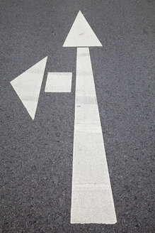 Road marking, Arrows - WIF000770