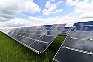 Germany, photoelectric cells of solar power plant - LYF000060
