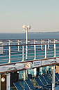 Germany, Baltic Sea, On board of a cruise ship in the morning - MEM000200