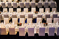 Laid tables at en event - SKF001518