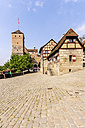 Germany, Bavaria, Nuremberg,  view to Kaiserburg - THAF000469