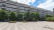 Serbia, Belgrade, Novi Beograd, Tosin Bunar, Development area, Concrete tower block - AMF002377